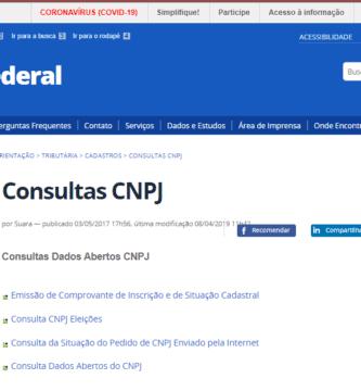 Como Fazer Consulta de Sócio Pelo CPF