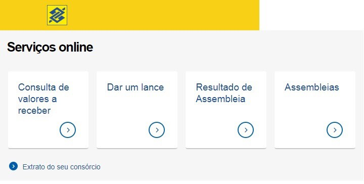 Consultar Consórcio Banco Do Brasil